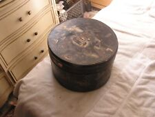 Antique Asian Hat Box Ching Dynasty