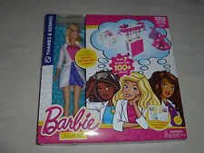 NEW BARBIE STEM KIT THAMES & KOSMOS W SCIENTIST DOLL BUILD 7 MODELS 100+ PCS NIB