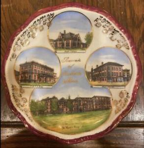 rare vintage antique souvenir Plate Rochester Minnesota
