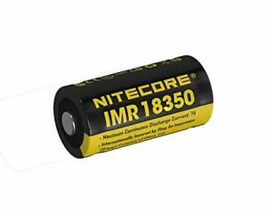 Nitecore IMR 18350 Battery for EC11, MT10C - IMR 18350 Rechargeable Battery