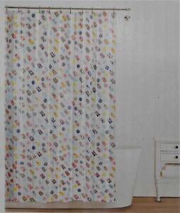 SPLASH BATH SHOWER CURTAIN PEVA VINYL - # LIFE'S A BEACH 70 x 72 NIP NEW