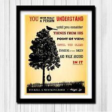 To Kill a Mockingbird - Literary / Library Poster