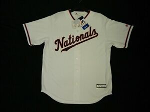 Official Washington Nationals 2019 Limited Edition White Cool Base Jersey XL