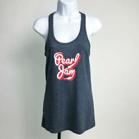 Pearl Jam Lightning Blot 2014 US Tour Womens Tank Top XL