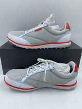 Ashworth Womens Cardiff ADC Golf Shoes, PEBBLE/WHITE/DKORAN 9US