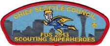 Chief Seattle Council - 2013 Friends of Scouting FOS CSP