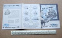 1950s Vintage Hobbies Ltd Dereham Catalogue of Galleons & Famous Ship Kits