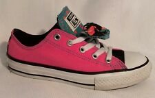 Converse All Star Sneakers Big Kid Girls 13 Youth Pink lo Top Shoe Canvas Casual
