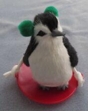 Byers Choice Penguin on a Snow Saucer Sled Figurine - New w Tags