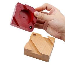 Puzzle Secret Box IQ Mind Wooden Magic Box Teaser Game Juguetes creativos NUEVO