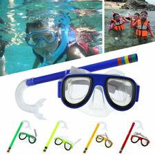 Adult Scuba Mask Snorkel Diving Glasses Set Anti-Fog Snorkeling Swimming Dive