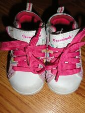 Girl'S Garanimals Pink And White Sneakers Size 3 Very Cute*