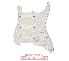 EMG DG20 DAVID GILMOUR PREWIRED PICKGUARD SPC & EXG ( FREE WORLDWIDE SHIPPING )