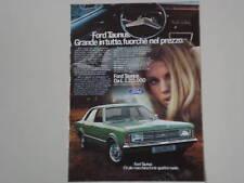advertising Pubblicità 1971 FORD TAUNUS