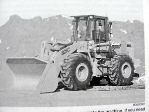 CASE 821C 821 C WHEEL LOADER TRACTOR OPERATORS MANUAL P.I.N. JEE0155001 AND UP