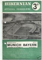 23.11.1960 Hibernian FC - FC Bayern München