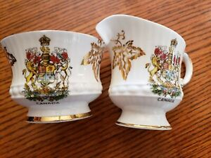 Vintage Elizbethan Fine Bone China Canada  Cream and Sugar Set Made in England