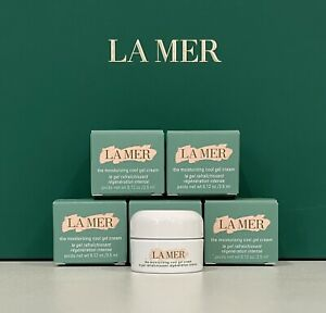 💛La Mer 5x The Moisturizing Cool Gel Cream - 3.5ml each (Total 17.5ml)💛