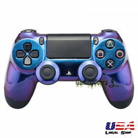 For DualShock PS4 Controller Front Shell Custom Repair Mod Glossy Chamillionaire