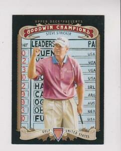 2012 Upper Deck Goodwin Champions #60 Steve Stricker card, PGA legend