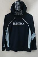 NIKE Mens Hoodie URBAN AIR MAX Hooded Zipper Sweater Small VERY GOOD P89