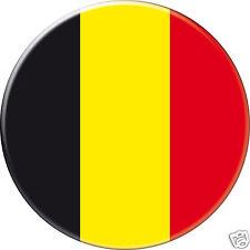5 x sticker 5cm auto moto velo valise pc portable drapeau Rond Belgique-Belgium