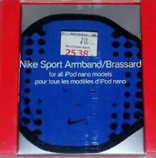 Nike Sport For All iPod Nano Models Armband Brassard Blue Nip