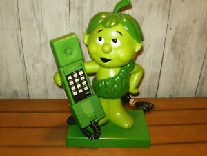 1984 Vintage Little Sprouts Jolly Green Giant Landline Phone. Tested, Works.