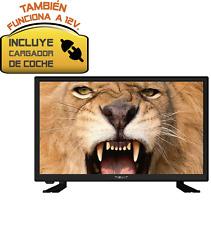 """TELEVISOR NEVIR 7418 TV 20"""" USB HDMI Negra 12V CAMION·CARAVANA·BARCO -Top ventas"""