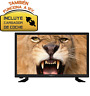 "TELEVISOR NEVIR 7412 TV 24"" USB HDMI+DVD Negra 12V CAMION·CARAVANA·BARCO"