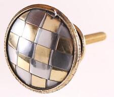 Möbelknopf gold silber Metall, Knopf, Griff, Knauf im Antik Look