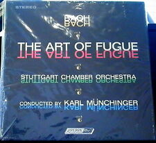 Bach/Munchinger  The Art of the Fugue  2 lps   London