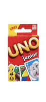 Brand New Uno Junior Play Cards Age 3 yrs +
