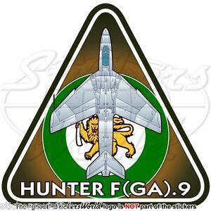 Hawker HUNTER Rhodesian AirForce (Hawker Siddeley-BAe) F(GA).9 RHODESIA Sticker