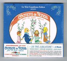 ♫ TRIO CASADESUS-EHCO - CHANSONS DE FRANCE POUR LES PETITS ENFANTS - CD NEUF ♫