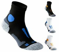 2 Pairs, Unisex Running Compression Socks Professionally Padded Blister Free