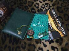 ROLEX 5X SET (BOOKLET,PAPER HOLDER 100.00.41..) GMT SUBMARINER... ENG 6.1986