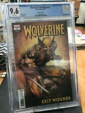 Wolverine Exit Wounds #1 | 9.6 CGC | Marvel Comics | Liefeld variant cover art |