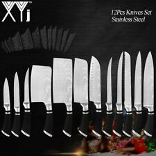 Stainless Steel Knives Set Professional Kitchen Chef Knife Accessory Quality NEW