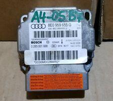 Audi A4 B7 S LINE 2.0 TDI  AIRBBAG CONTROL MODULE ECU 8E0959655G 2005 > 08