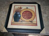 Vintage Mary Ann June Wooden Wall Sign Plaque Some of life's greatest treasures