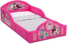 Cama De Disney Minnie Mouse Para Niñas Pequeñas De Plastico Rosa Toddler Bed