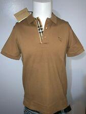 Burberry london men's camel hartford nova check polo shirt s,m,l,xl,2xl,3xl