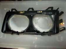 BMW E36 RIGHT Headlight Glass Lense and Frame BOSCH 1306621683 Part 1305544154