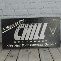 Vintage COLUMBUS CHILL A Night At the Chill 1992 BOARD GAME Hockey ECHL 90s