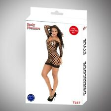 Body Pleasure - TL67 - Sexy Lingerie Set - One Size Fits Most - Gift Box - Black