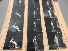 DANIELE EVENOU (sexy)  : PLANCHE CONTACT ORIGINALE DE 1965
