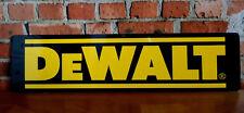 DeWalt Aluminum Sign