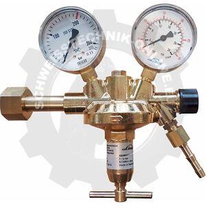 Flaschendruckminderer Argon/CO2, 200bar, 0-30 Liter/min. (Druckminderer EG)