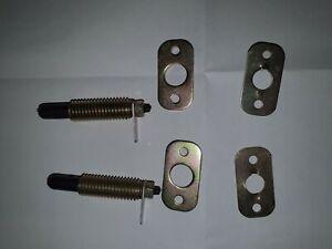 2 pack Universal Courtesy Door Interior Light Switch Metal Adjustable Pin Pair